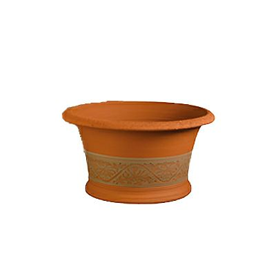 【テラコッタ鉢】ウィッチフォード ハニーサックルハーフポット 596 Honey suckle half pot ガーデニング 資材 植木鉢 園芸資材