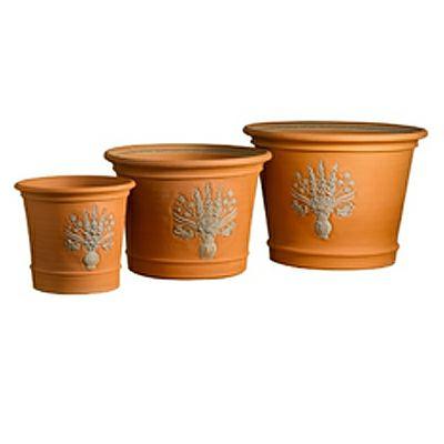 【テラコッタ鉢】ウィッチフォード フロリバンダポット 250 英国 イギリス ハンドメイド ガーデニング 資材 植木鉢 園芸資材